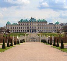 Oberes Belvedere, Vienna Austria by Mythos57