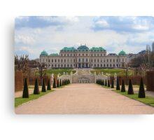 Oberes Belvedere, Vienna Austria Canvas Print