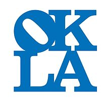 OKLA (Blue)-small by okjane