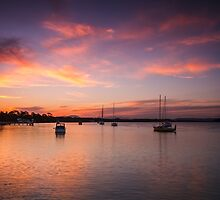 Sunset on Hastings, NSW by LizSB