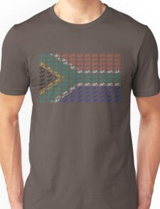 Bike Flag South Africa (Small) Unisex T-Shirt