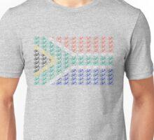 Bike Flag South Africa (Small) Unisex T-Shirt