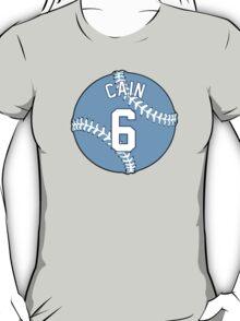 Lorenzo Cain Baseball Design T-Shirt