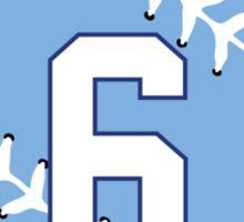 Lorenzo Cain Baseball Design Sticker
