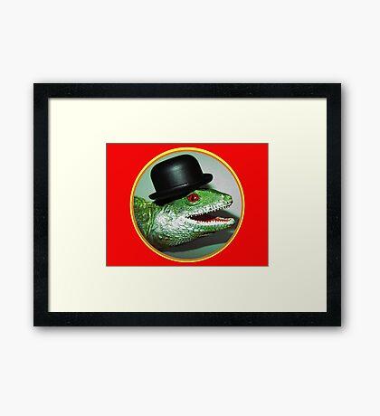 Evil Bill Portrait Framed Print