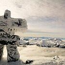 The Inukshuk of Blackcomb by Ryan Davison Crisp