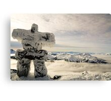 The Inukshuk of Blackcomb Canvas Print