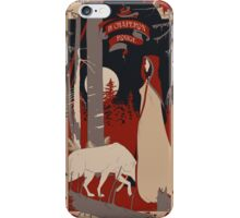 Le Chaperon Rouge iPhone Case/Skin