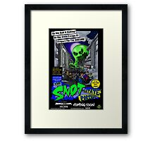 The Snot That Ate Port Harry Framed Print