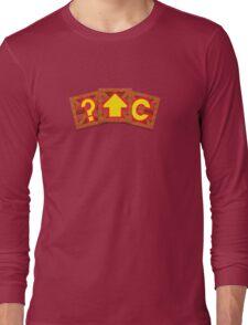 Crash Bandicoot Crates Long Sleeve T-Shirt