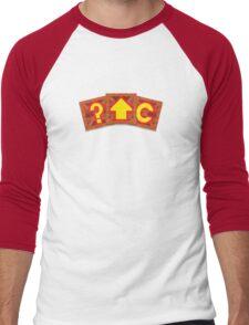 Crash Bandicoot Crates Men's Baseball ¾ T-Shirt