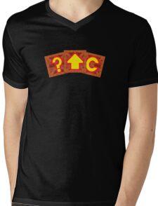 Crash Bandicoot Crates Mens V-Neck T-Shirt