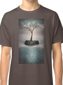 The Roots Below the Earth (Tree of Solitude) Classic T-Shirt