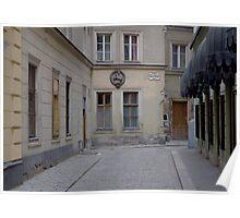 Kleeblattgasse Poster