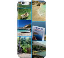 Collage/Postcard from Albania 3 - Travel Photography iPhone Case/Skin