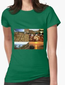 Collage/Postcard from Albania 2 - Travel Photography T-Shirt
