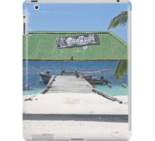 Caribbean Boat iPad Case/Skin