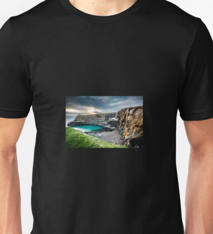 The Blue Lagoon...Abereiddy, Pembrokeshire.  Unisex T-Shirt