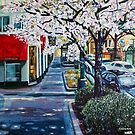 'UPTOWN CHARLOTTE, TRYON ST.'  by Jerry Kirk