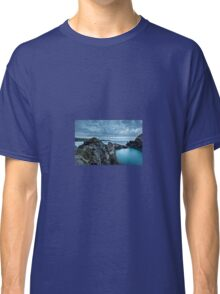 The Blue Lagoon...Abereiddy, Pembrokeshire. Classic T-Shirt