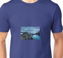 The Blue Lagoon...Abereiddy, Pembrokeshire. Unisex T-Shirt
