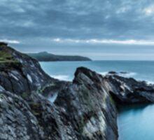 The Blue Lagoon...Abereiddy, Pembrokeshire. Sticker