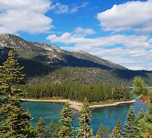 Profile of the Entrance to Emerald Bay by Jared Manninen