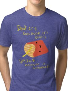 Fries Make Me Smile Tri-blend T-Shirt