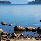 Looking Out of Emerald Bay by Jared Manninen