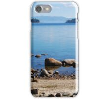 Looking Out of Emerald Bay iPhone Case/Skin