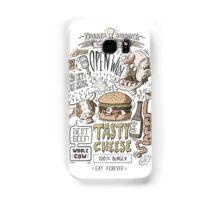 Dumb burger Samsung Galaxy Case/Skin