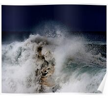 Winter Waves At Pipeline 12 Poster