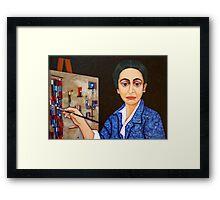 Maria Helena Vieira da Silva painting Framed Print