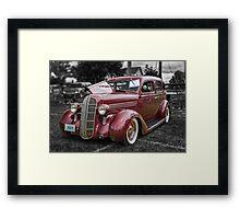 1936 Dodge 4-door Sedan Framed Print