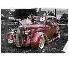 1936 Dodge 4-door Sedan Poster