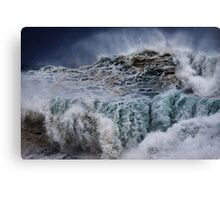 Winter Waves At Pipeline 16 Canvas Print