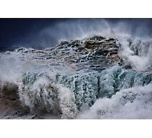 Winter Waves At Pipeline 16 Photographic Print