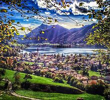 Autumn View of Schliersee by Boston Thek Imagery