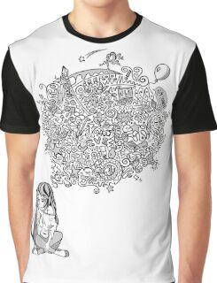 Overthinking Girl Graphic T-Shirt
