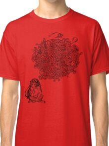 Overthinking Girl Classic T-Shirt