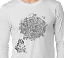 Overthinking Girl Long Sleeve T-Shirt