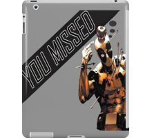 You Have Missed an Apple but... iPad Case/Skin