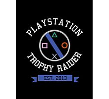 Console Wars Playstation Photographic Print