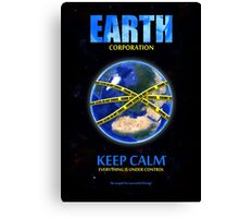 Earth Corporation Canvas Print
