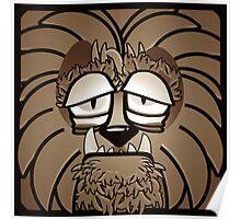 Werewolf - Sepia Poster