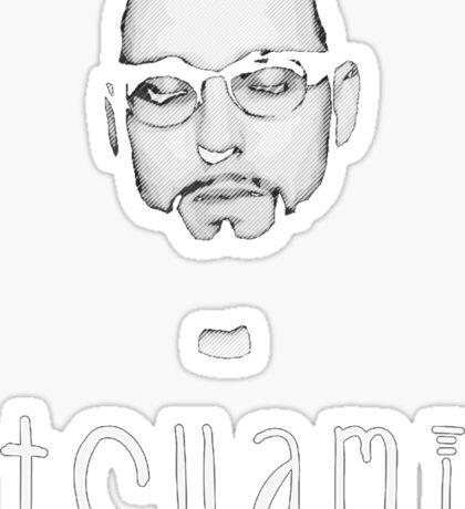 Tchami - Black Sticker