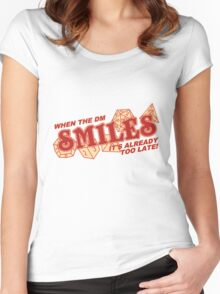 When the DM Smiles Women's Fitted Scoop T-Shirt