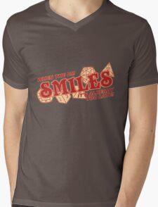 When the DM Smiles Mens V-Neck T-Shirt