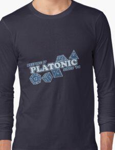 Platonic Love Since 74 Long Sleeve T-Shirt