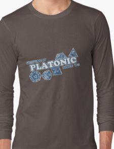 Favorite Platonic Love Since 74 Faded Long Sleeve T-Shirt